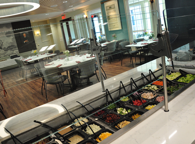 Moravian Village - Upper Deck Restaurant Salad Bar