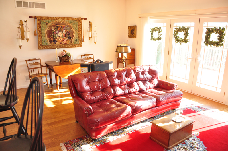Moravian Village - Living Room