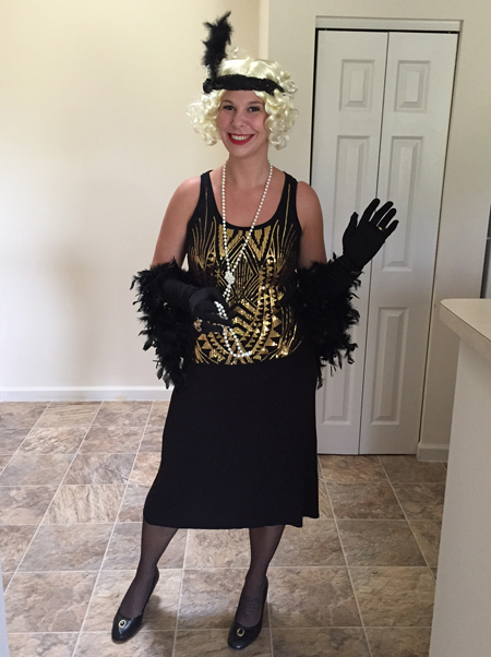 Moravian Village - Halloween girl