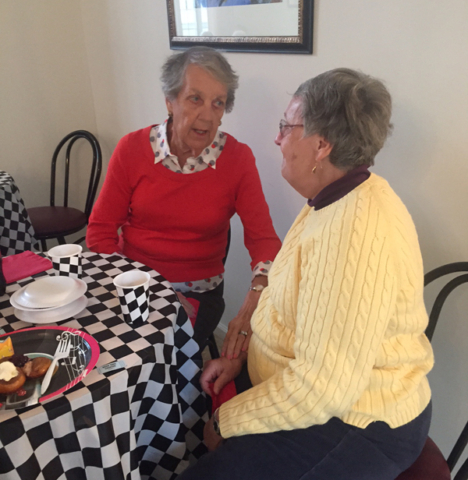 Moravian Village - Conversation